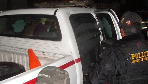 Los policías intervinieron al acusado y trasladaron hasta la comisaría sectorial. (Foto: Difusión)