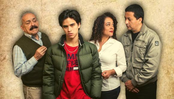 """Carlos Victoria, Ebelin Ortiz, Brando Gallesi y Carlos Solano protagonizan la obra virtual """"Bicentenario"""". (Foto: Composicipon/ButacaCProd)"""