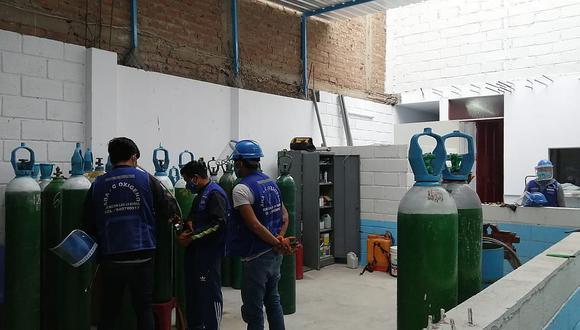 Almacén de oxigeno atendía sin licencia de funcionamiento en Trujillo