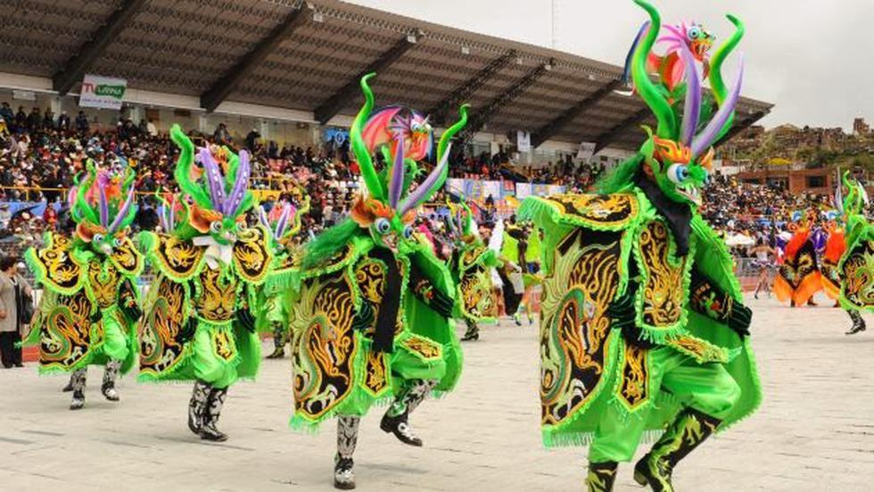 Cien mil danzantes en la Fiesta de La Candelaria
