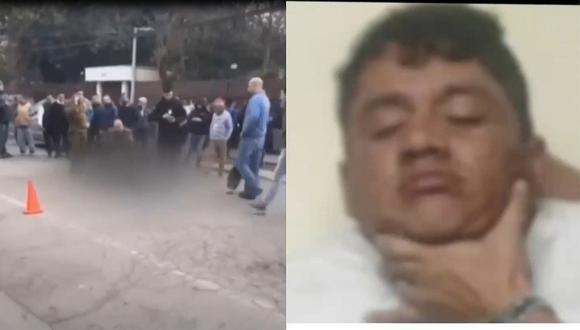 Delincuente peruano es abatido por la Policía en Chile (VIDEO)