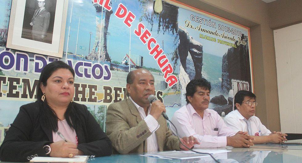 Piura: Alcalde Arévalo Zeta afirma que La Tortuga es de Sechura y no de Paita