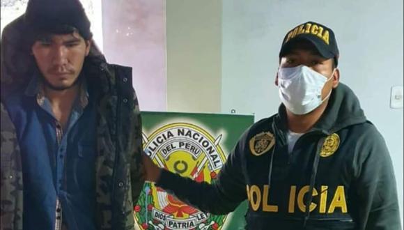 Los efectivos de la PNP hallaron la unidad menor en manos del acusado. (Foto: Difusión)