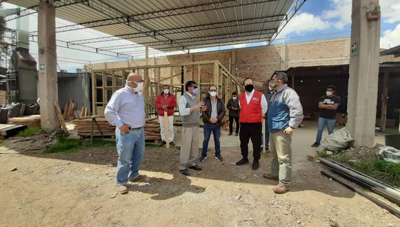 Impulsan instalación de aulas ecológicas de madera y sismoresistentes en Cajamarca. (Foto: Gore Cajamarca)