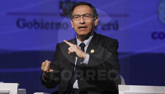 """Presidente Vizcarra: """"Nunca he conversado con Hinostroza ni con Camayo"""""""