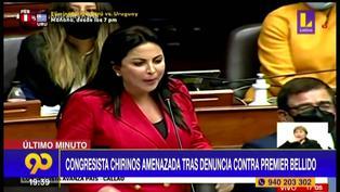 Patricia Chirinos es amenazada tras denunciar a Guido Bellido (VIDEO)
