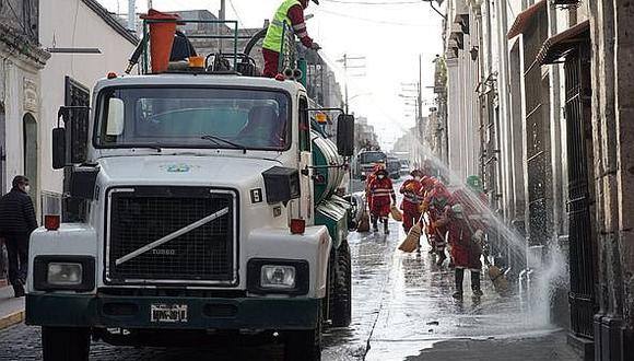 Arequipa: Aumentan los casos de contagio en personal de limpieza del municipio provincial