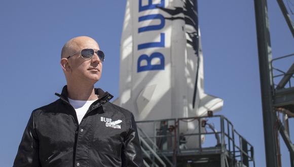 Imagen de Jeff Bezos. (AFP /  BLUE ORIGIN).