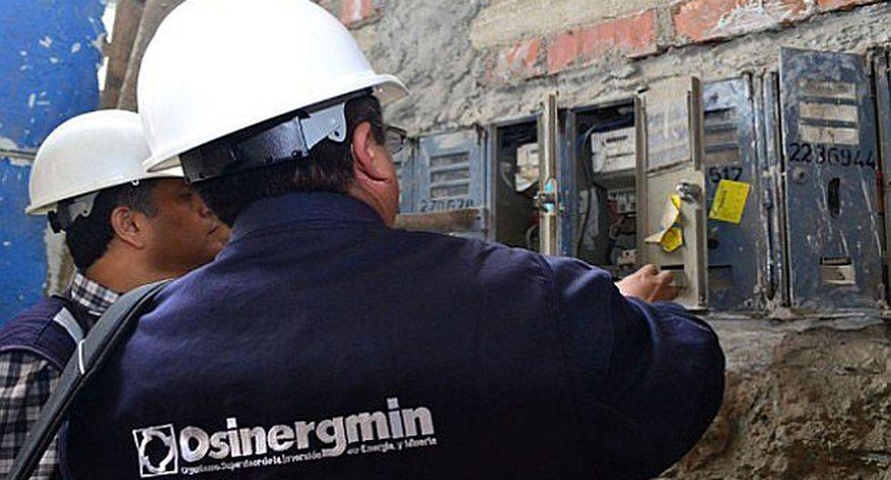 Osinergmin: Reducción tarifaria puede ser de 6%