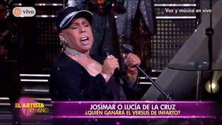 """Lucía de la Cruz: Mira aquí su presentación en """"El Artista del Año"""" (VIDEO)"""