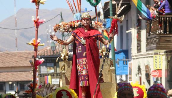 Inti Raymi en Cusco. Foto: Juan Sequeiros.