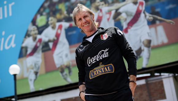 La selección peruana saludó a Ricardo Gareca por su cumpleaños. (Foto: GEC)