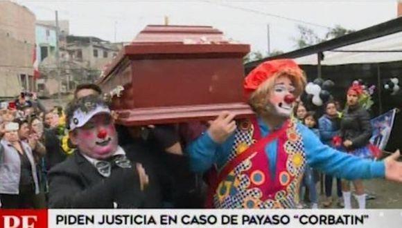 Familiares y amigos piden justicia por la muerte del payaso 'Corbatín' (VIDEO)