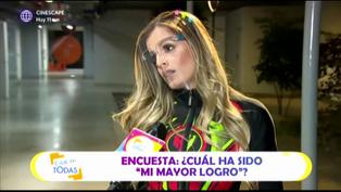 """Alejandra Baigorria recomienda a peruanos: """"hagan un emprendimiento con una inversión pequeña"""" (VIDEO)"""