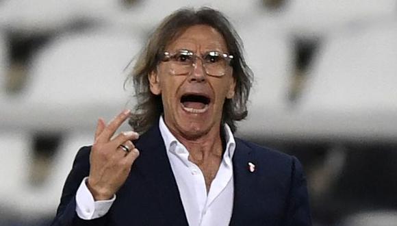 Ricardo Gareca es entrenador de Perú desde febrero del 2015. (Foto: AFP)