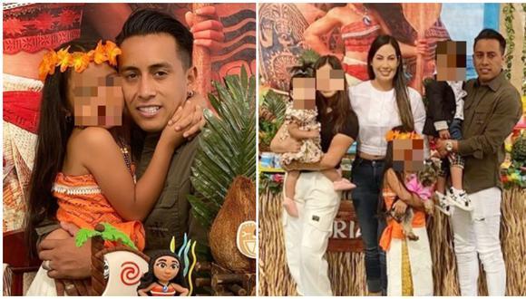 Christian Cueva y su esposa festejaron el cumpleaños número seis de su hija. (Fotos: Instagram)