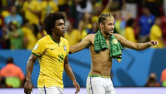 Copa América: Willian sustituye a Neymar en selección de Brasil (FOTOS)