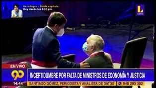 Guido Bellido y Jorge Montoya conversaron esta mañana en ceremonia de Acción de Gracias (VIDEO)