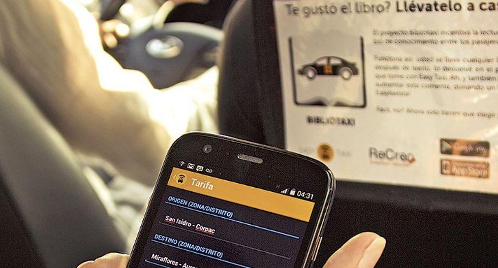 Taxi por aplicativo: aprueban observaciones a ley que crea registro nacional