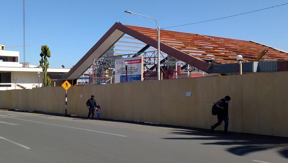 Parte de los recursos son usados por el GRT para la construcción del centro de convenciones Jorge Basadre. (Foto: Correo)