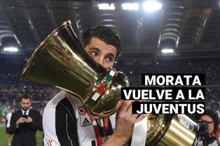 Regresa a la Italia: Conoce todos los detalles de la cesión de Morata a la Juventus