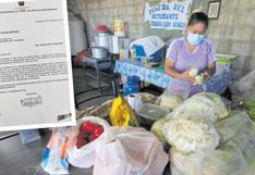 Comedores populares no usarán conservas por riesgo