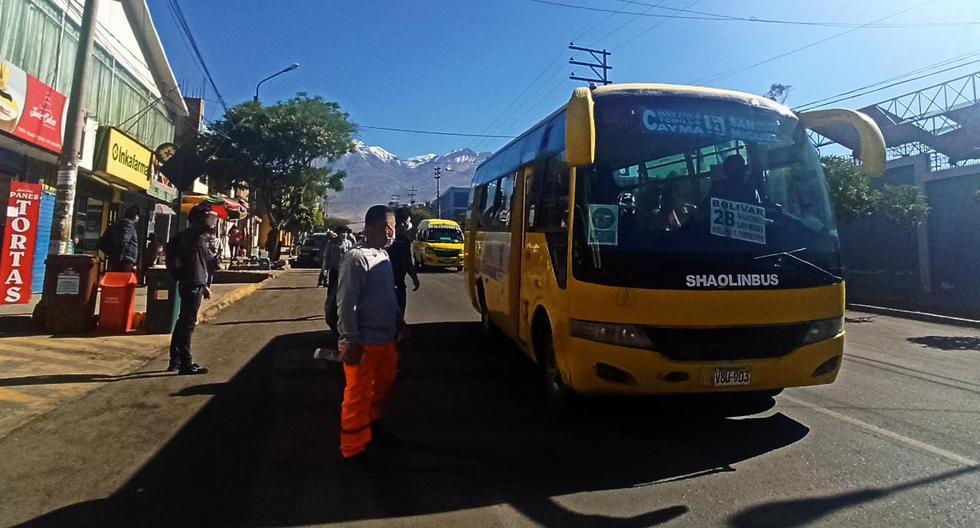 Cobrar pasaje a S/1 no genera pérdida a los transportistas de Arequipa