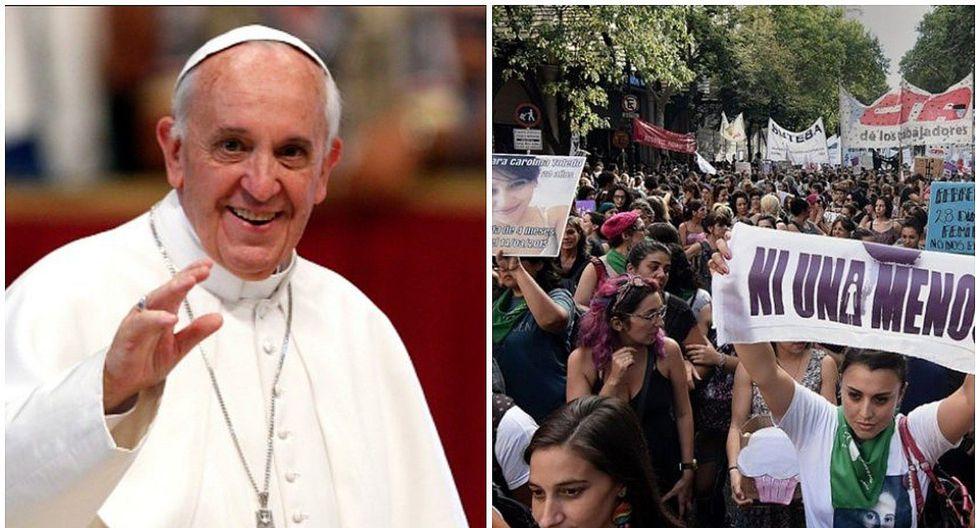 Día de la Mujer: Papa Francisco agradece a mujeres por su día