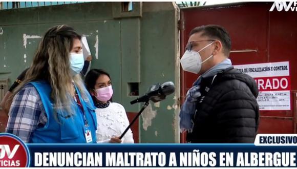 Clausuran albergue denunciado por maltratar a niños en Pachacamac. (Fuente: Captura ATV)
