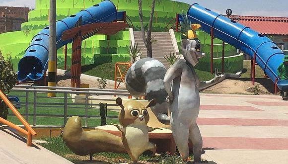 """Usan personajes de película infantil sin permiso en parque"""
