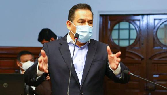 José Vega criticó al Gobierno durante su intervención en el debate. (Foto: Congreso)