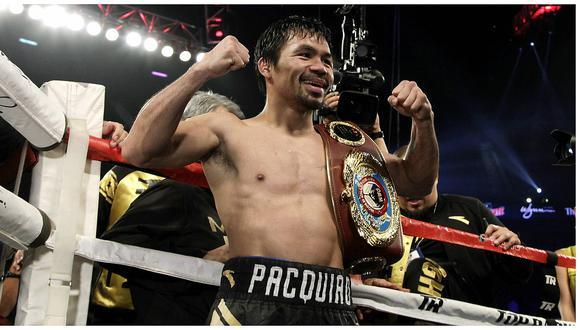 Manny Pacquiao derrota a Jessie Vargas y es el nuevo campeón welter de la OMB