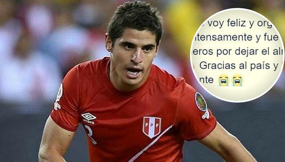 Aldo Corzo envía enternecedor mensaje en Facebook sobre la Selección peruana (FOTO)