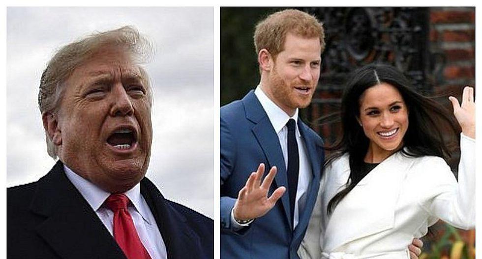 Donald Trump niega haber insultado a Meghan Markle solo horas antes de visitar Reino Unido