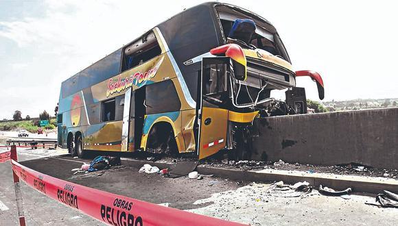 Nueve meses de prisión para el chofer del ómnibus donde murieron ocho personas
