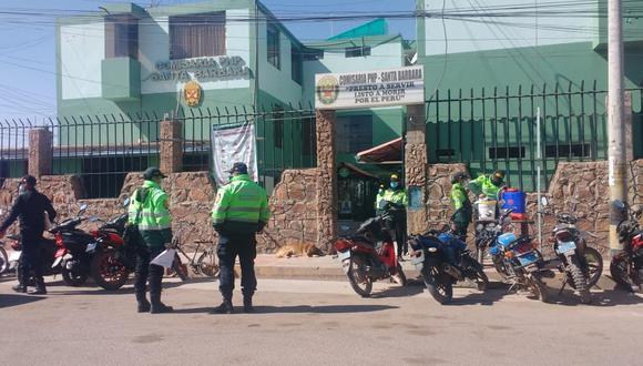 El denunciante fue abordado por el personal policial porque se encontraba en aparente estado etílico. (Foto: Difusión)