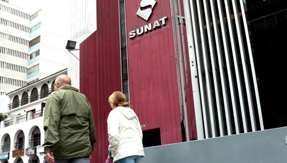 La Sunat indicó que el objetivo es dar alivio tributario a esas personas naturales y empresas con la finalidad de atenuar su falta de liquidez. (Foto: GEC)