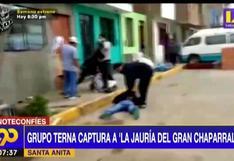 """Grupo Terna captura a """"La Jauría del Gran Chaparral"""" con 720 envoltorios de cocaína en Santa Anita"""