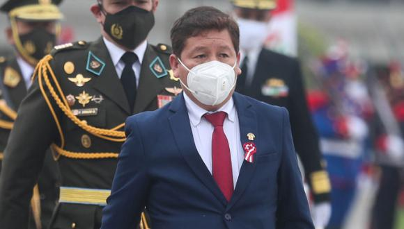 El recurso busca dejar sin efecto su designación como primer ministro por la investigación en su contra por apología al terrorismo. (Foto: Presidencia Perú)