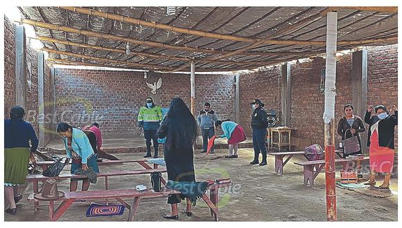 Intervienen iglesia en Casma donde se realizaba culto pese a prohibición por emergencia