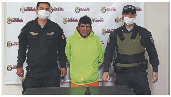 Agentes lograron detener a presunto ladrón en vivienda a donde ingresó a delinquir. Sospechan que llevó el explosivo.