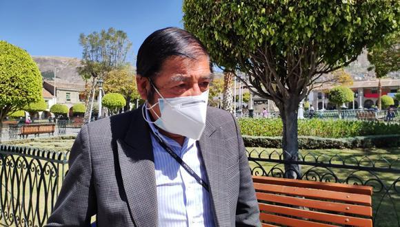 Presidente del Fredepa, Edilberto Barzola, responde por situación del transporte