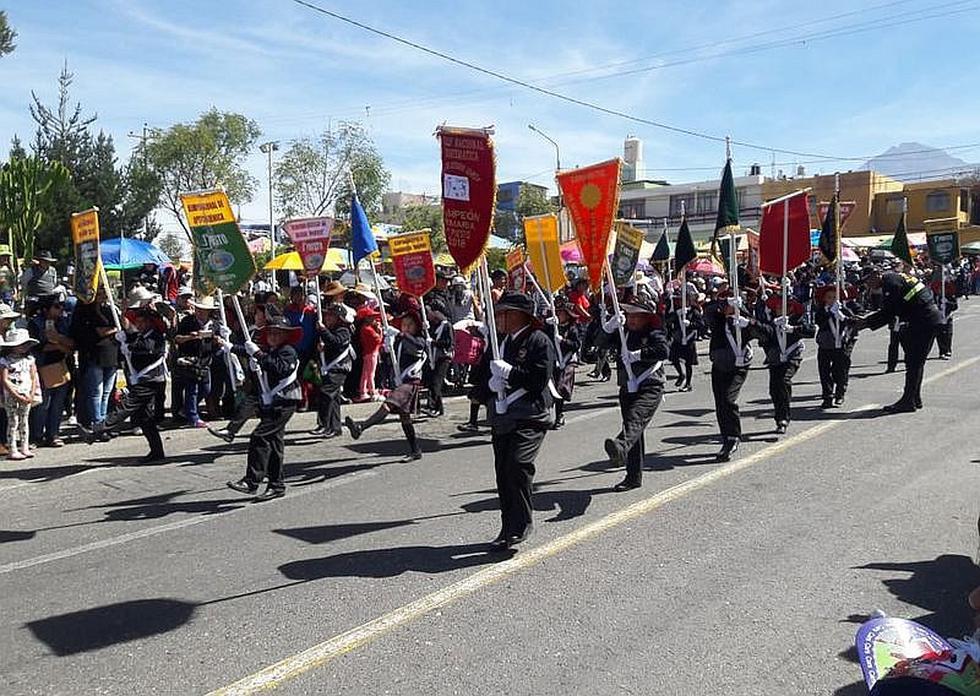 El pueblo Francisco Bolognesi de Cayma celebra 65 años de fundación (FOTOS)