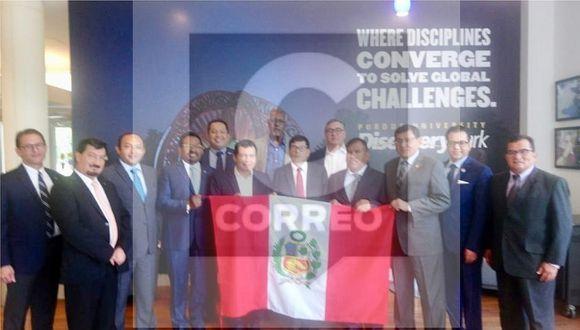Mesa Directiva autorizó viaje de congresista Joaquín Dipas (FOTOS)