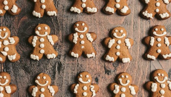 Las galletas de jengibre son infaltables en la cena de Navidad. (Foto: Pexels)