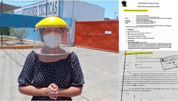 El secretario de la comuna provincial de Trujillo le advirtió a  funcionaria del Ejecutivo que no emitieron ningún informe sobre Estudio de Impacto Vial presentado por privado.