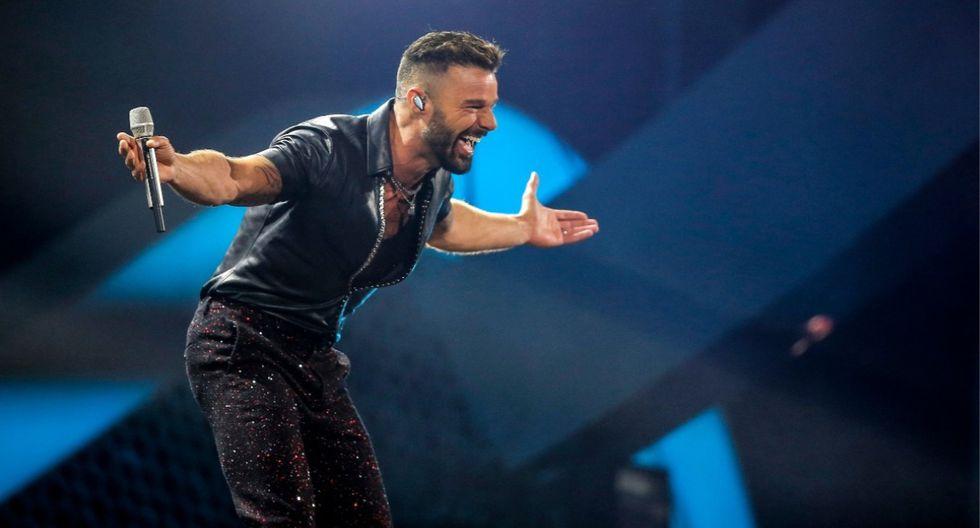 Ricky Martin se dirigió a los chilenos con reflexivo mensaje durante su show en Viña del Mar 2020. (Foto: AFP)