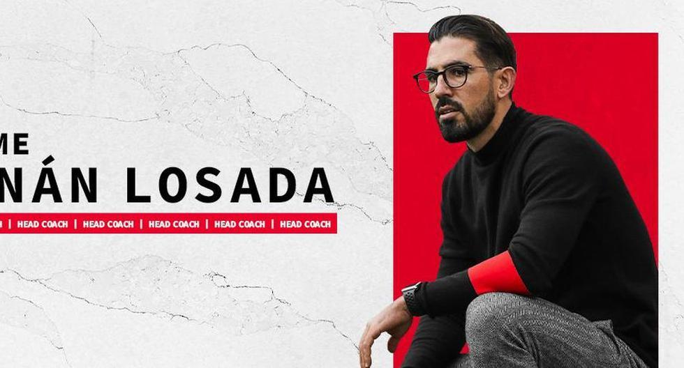 DC United de Edison Flores presentó a Hernán Losada como nuevo entrenador