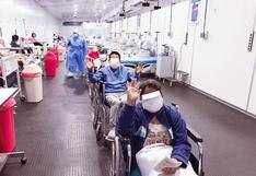 Ocho pacientes reciben alta médica y dos salen de UCI del Hospital San José de Chincha