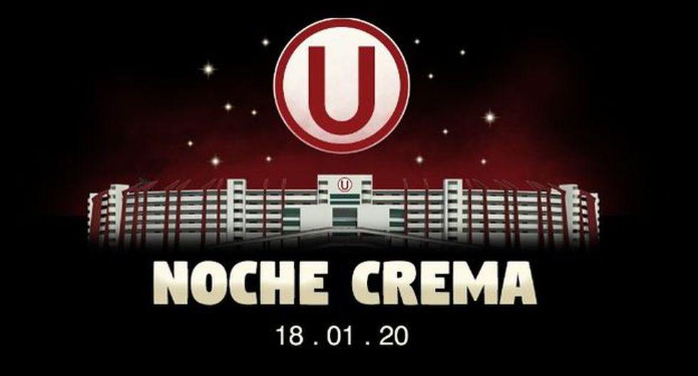 Universitario de Deportes jugará ante Cerro Largo en la Noche Crema 2020. (Foto: Universitario de Deportes)